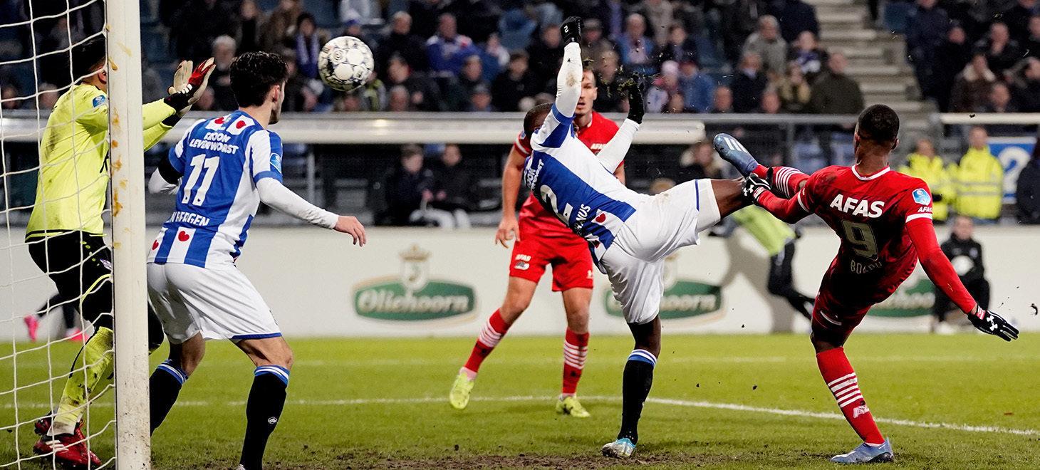 Narrow win AZ against Heerenveen