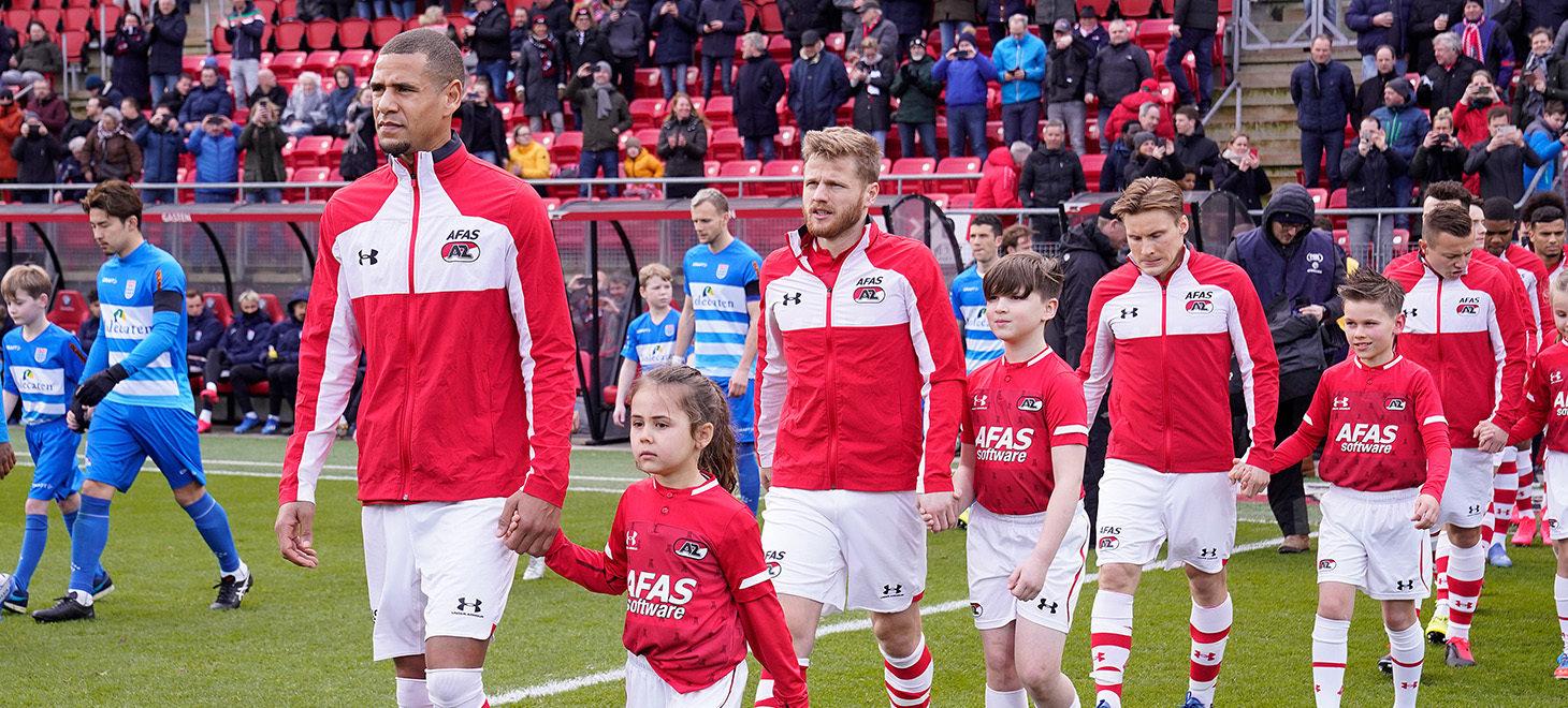 Waaghalzen AZ - PEC Zwolle
