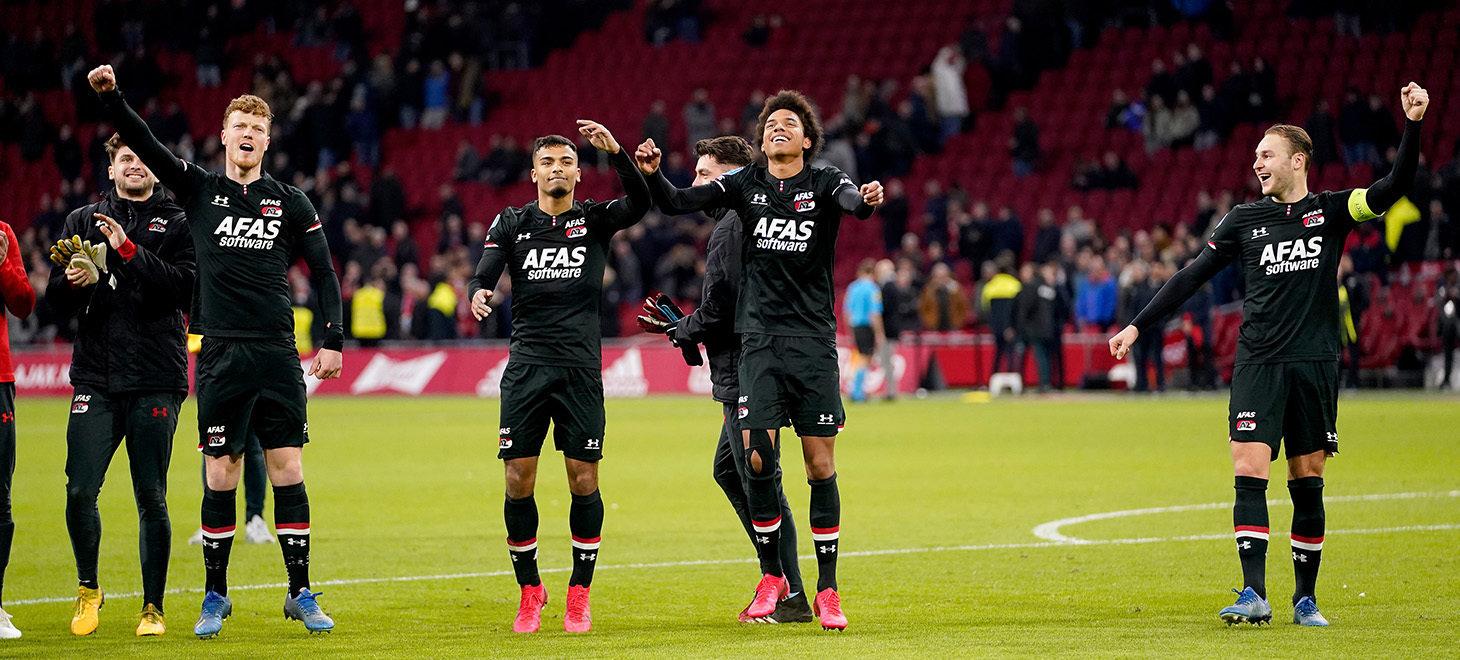 Ajax - AZ in beeld