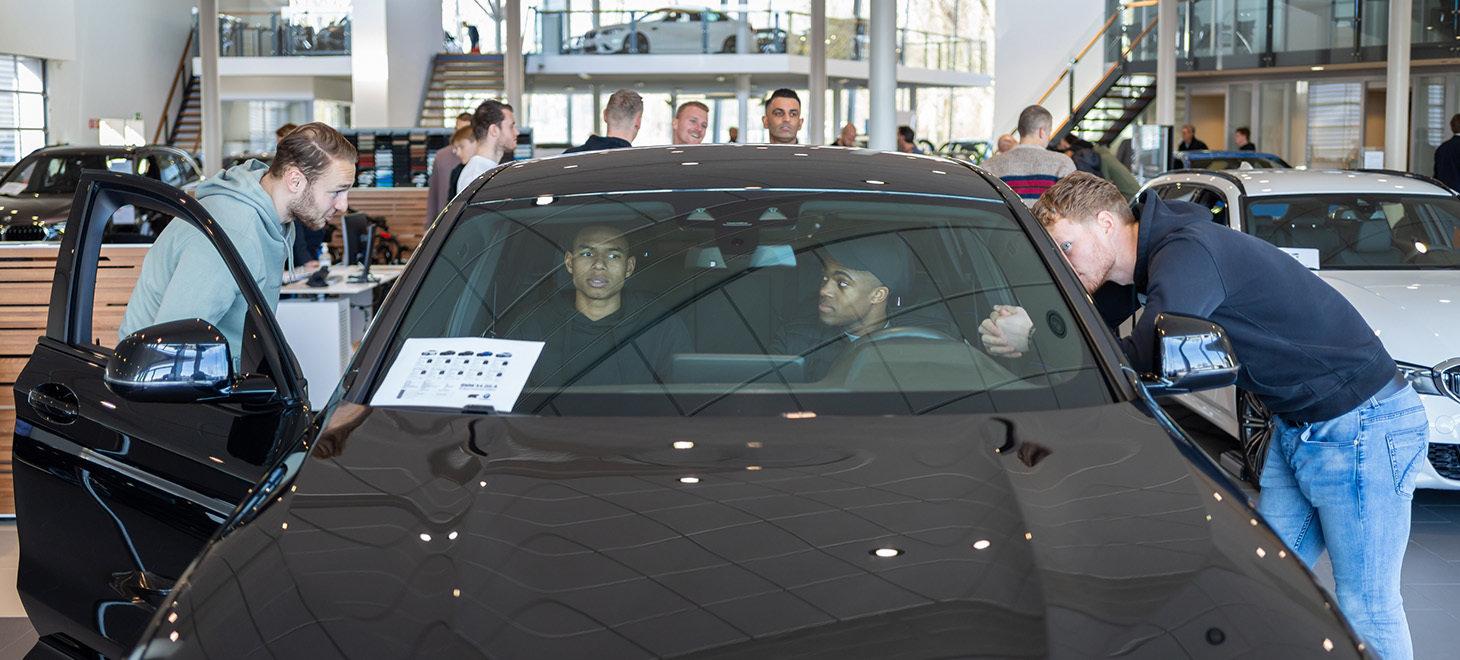 Selectie zoekt BMW's uit