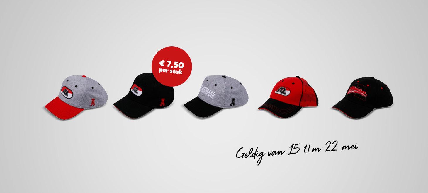 Weekaanbieding: caps
