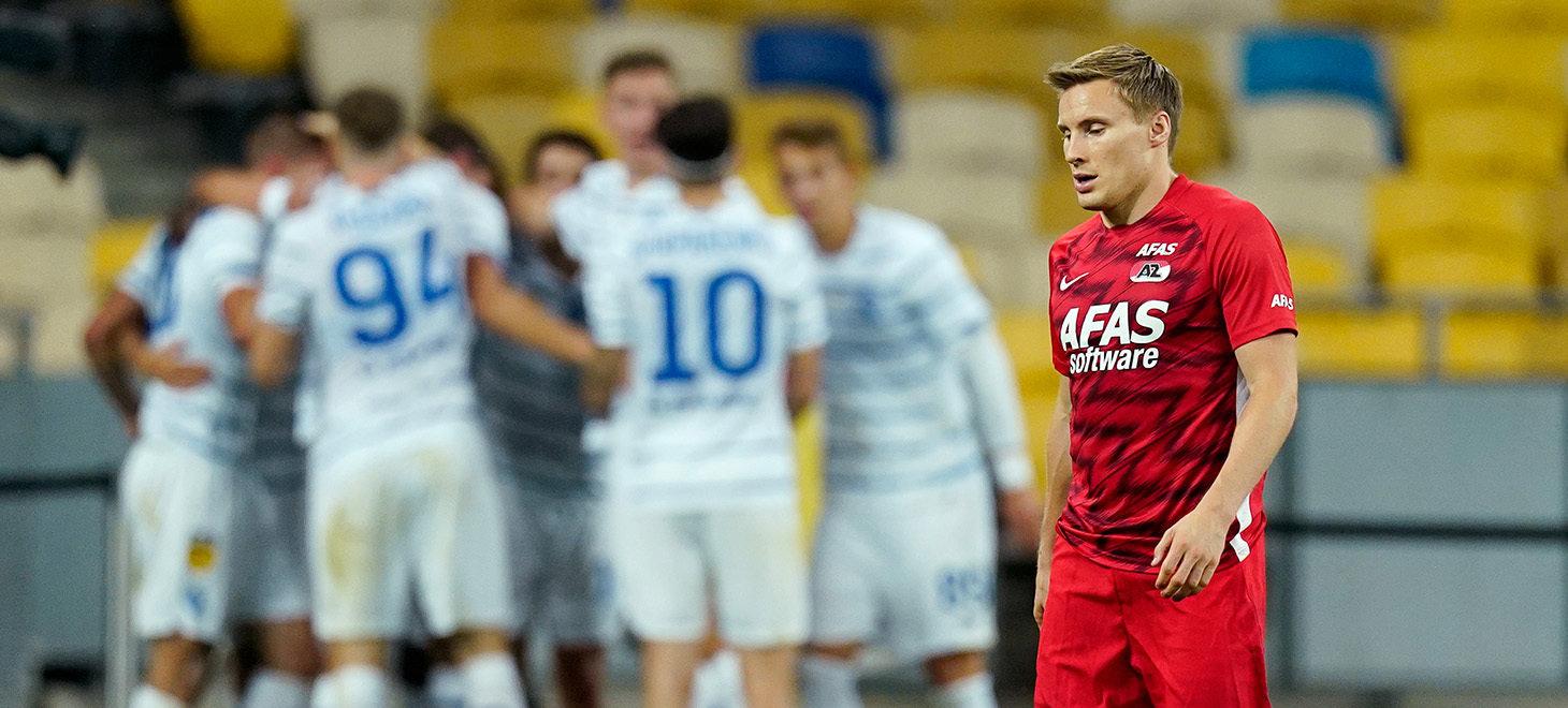 Dynamo Kiev - AZ in beeld