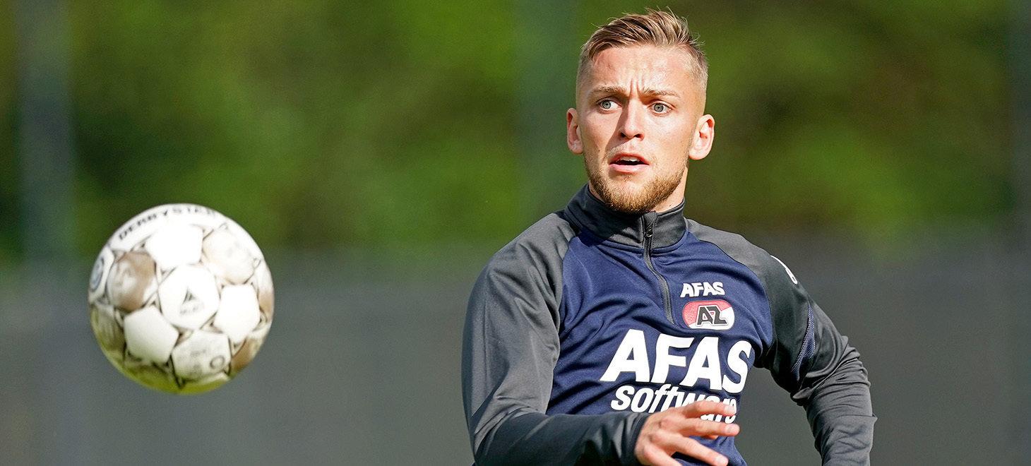 Eerste training Karlsson in beeld - AZ