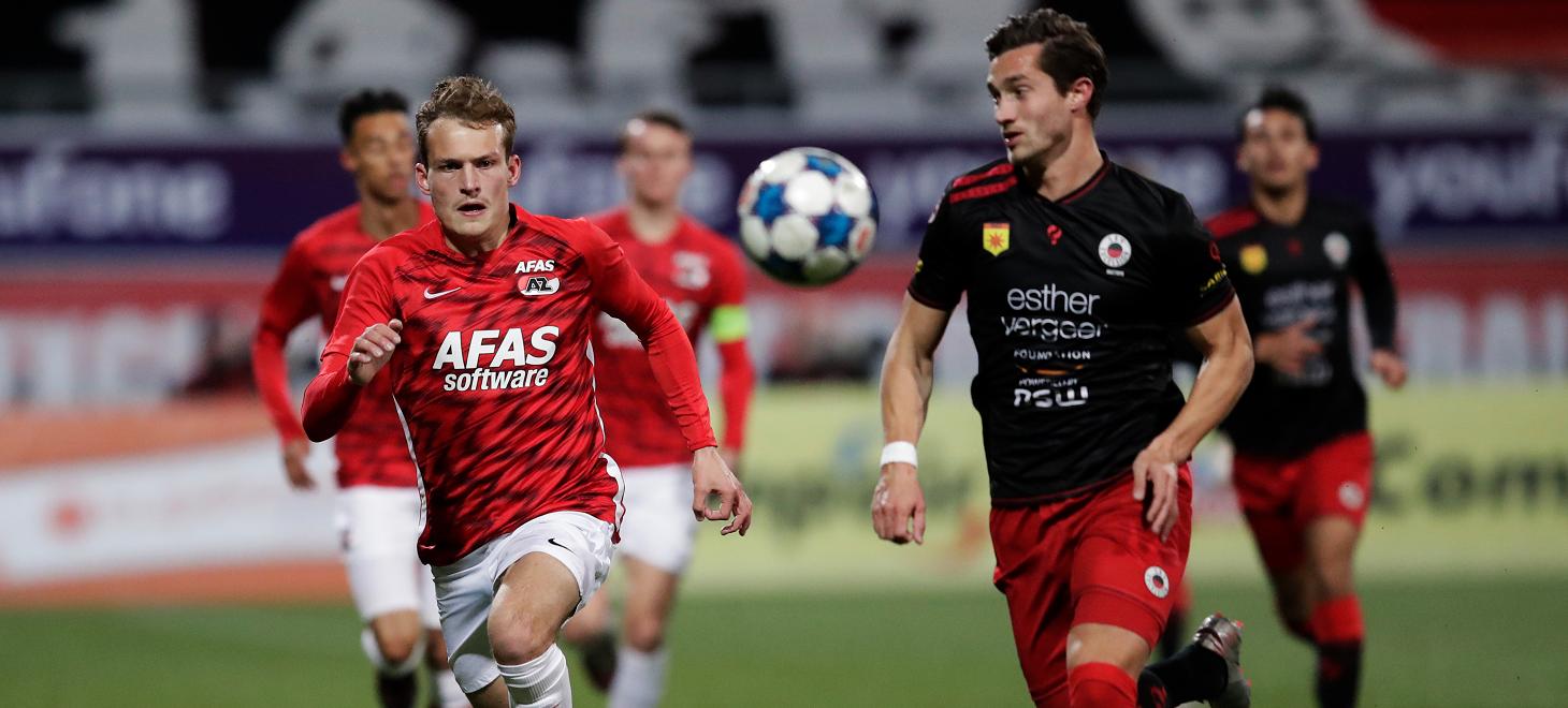 Jong AZ verliest in Rotterdam