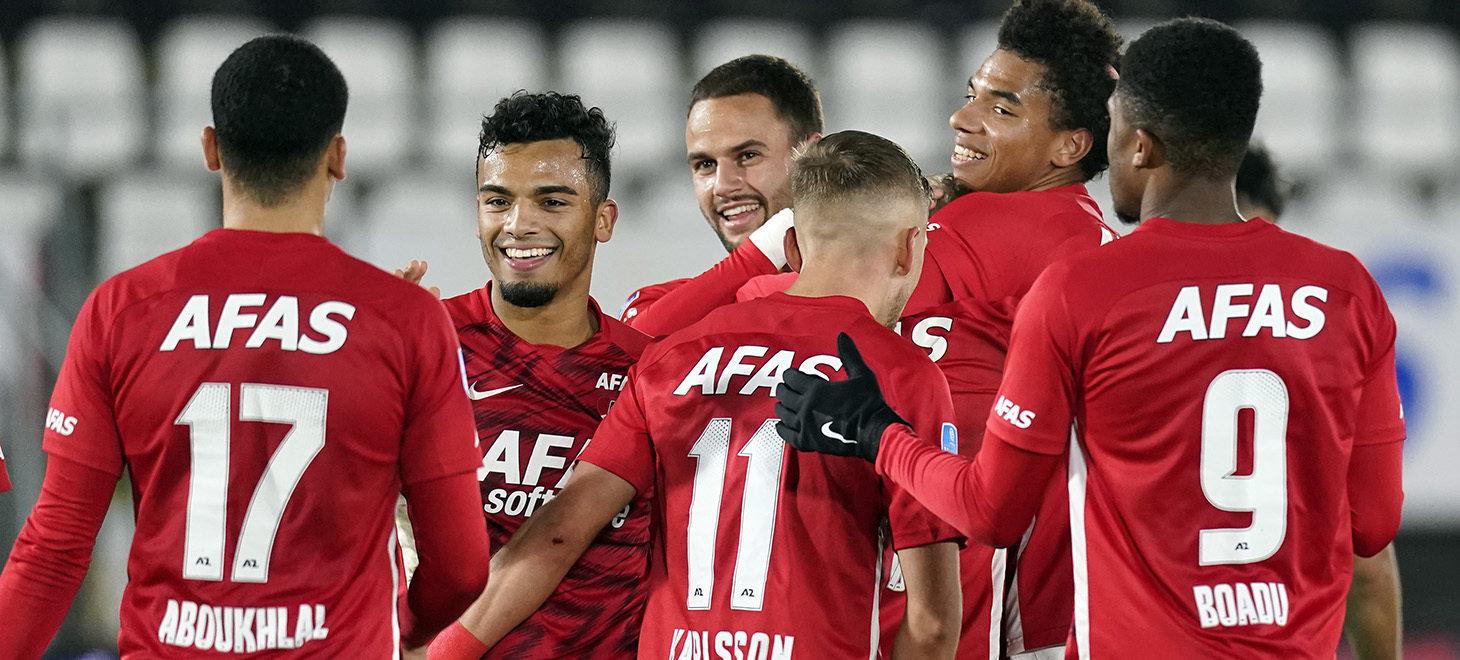 Eredivisie第13節 AZ-Willem II戦 試合レポート
