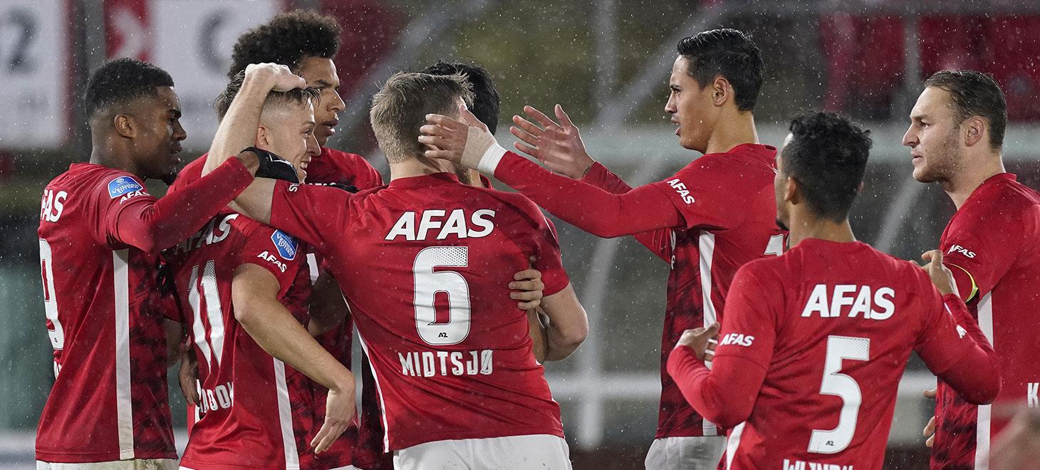 Eredivisie第14節 AZ-Vitesse戦