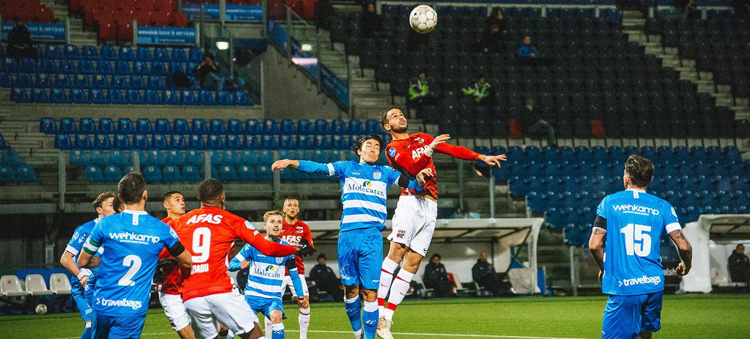 PEC Zwolle - AZ in beeld