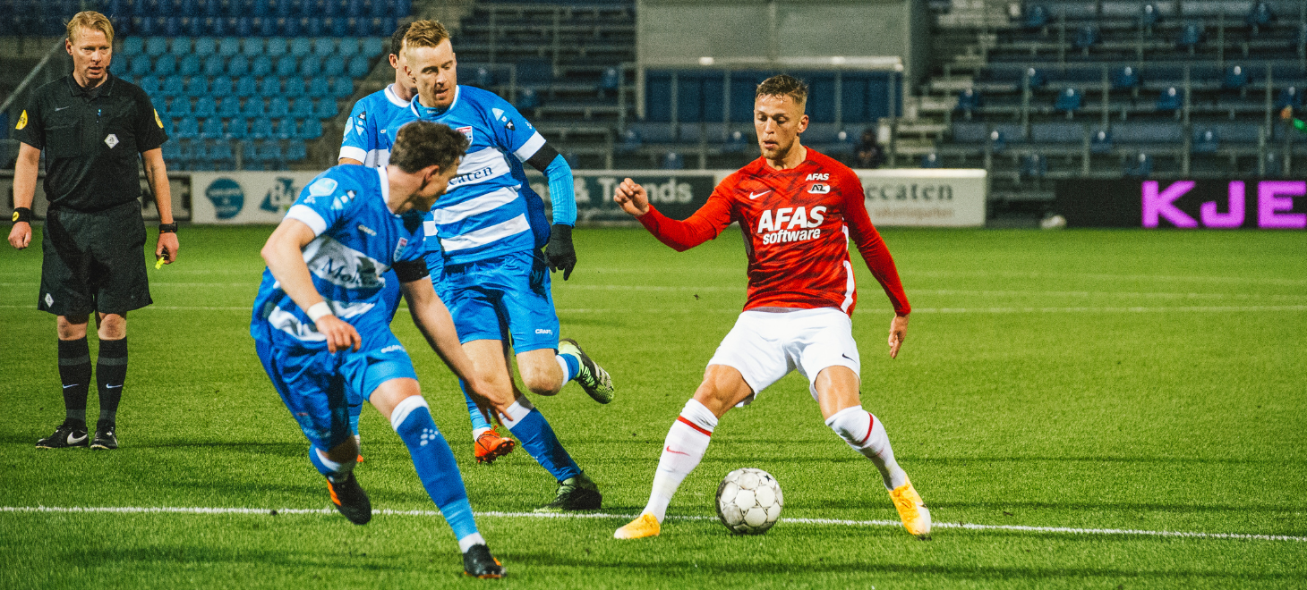 AZ loses two points in Zwolle