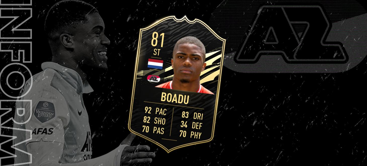 Boadu in Team of the Week