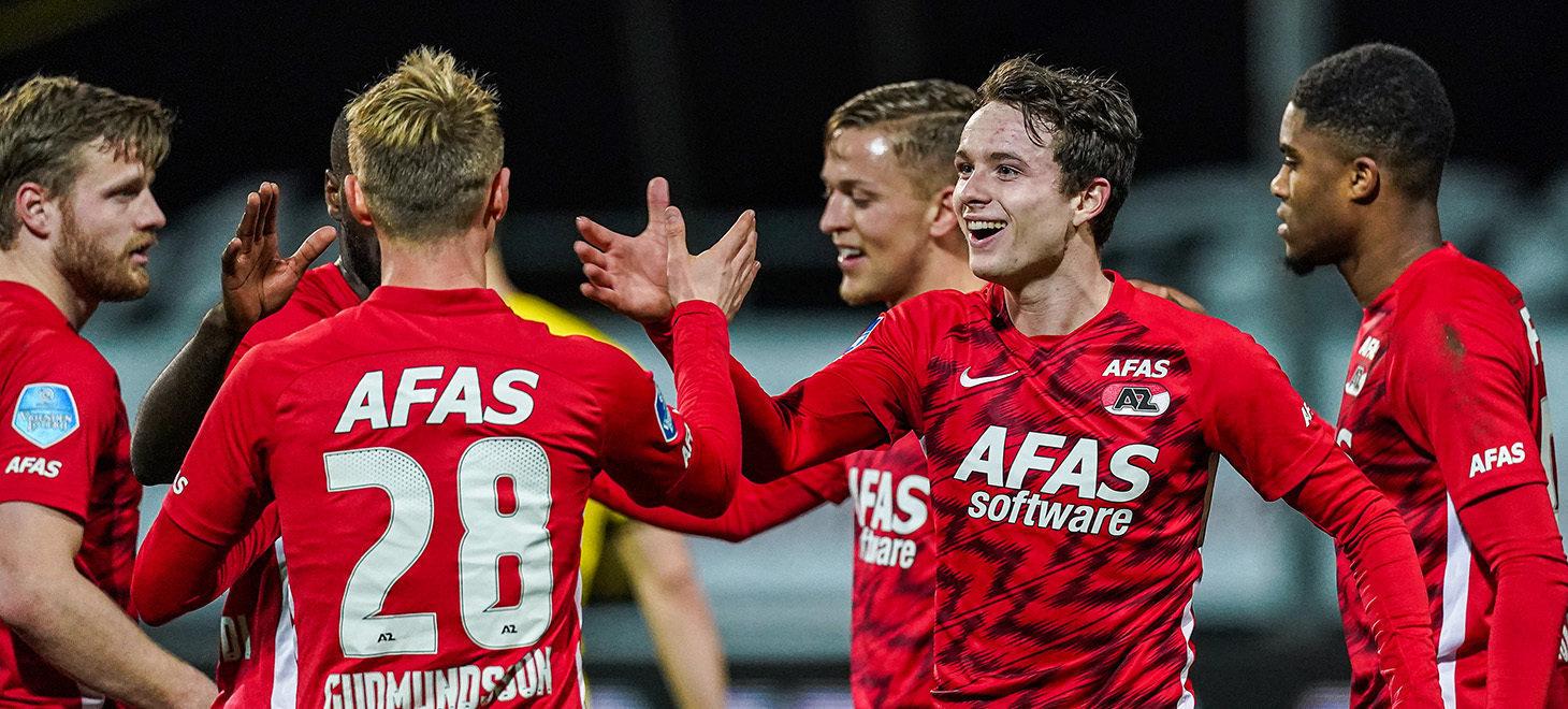 Eredivisie第23節 VVV-Venlo-AZ戦 試合レポート