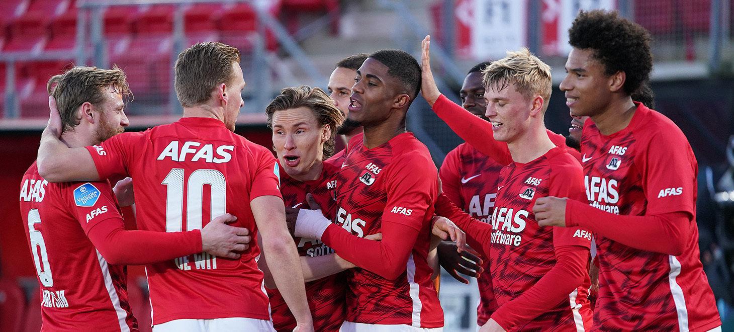 Boadu fires AZ past Feyenoord