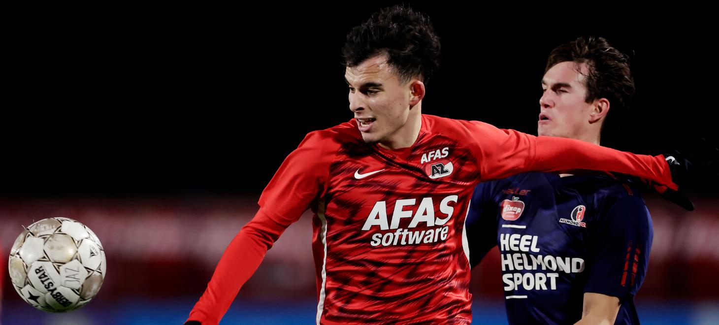Jong AZ hervat competitie in Helmond