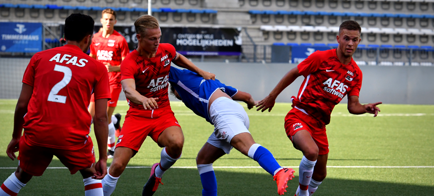 Paasduel Jong AZ en FC Den Bosch