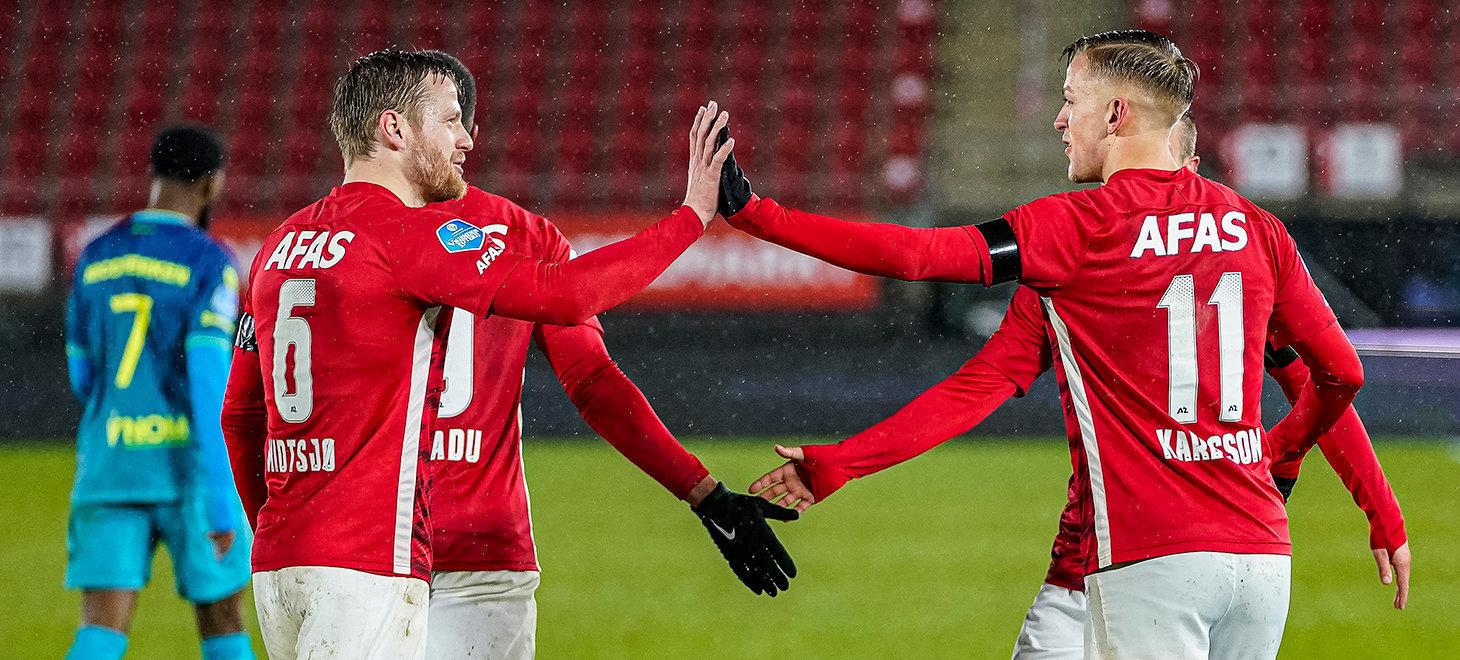 Three points stay in Alkmaar