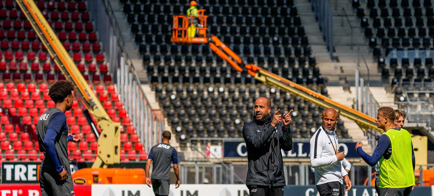 In beeld: training in AFAS Stadion