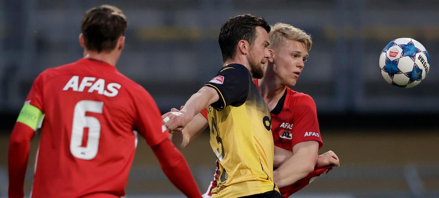Jong AZ wint in Kerkrade