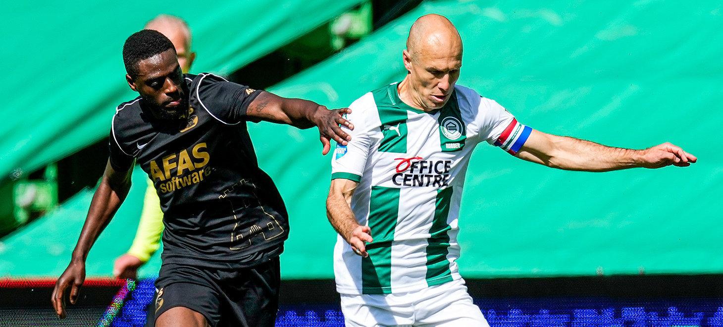 Eredivisie 第33節 FC Groningen-AZ戦 試合レポート