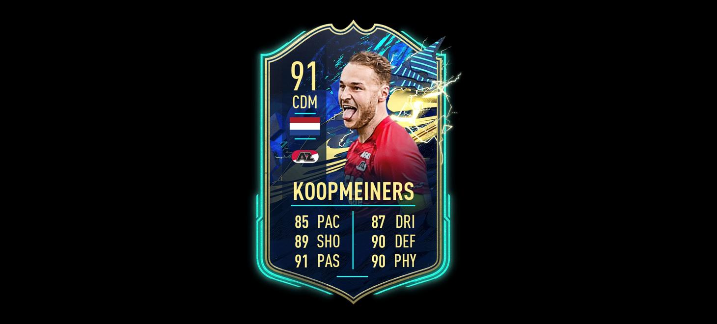 Koopmeiners in Team of the Season