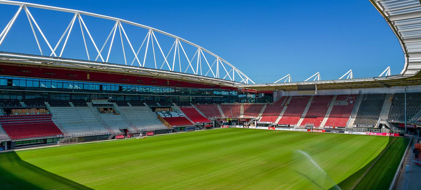 Vorderingen AFAS Stadion   Fotoverslag
