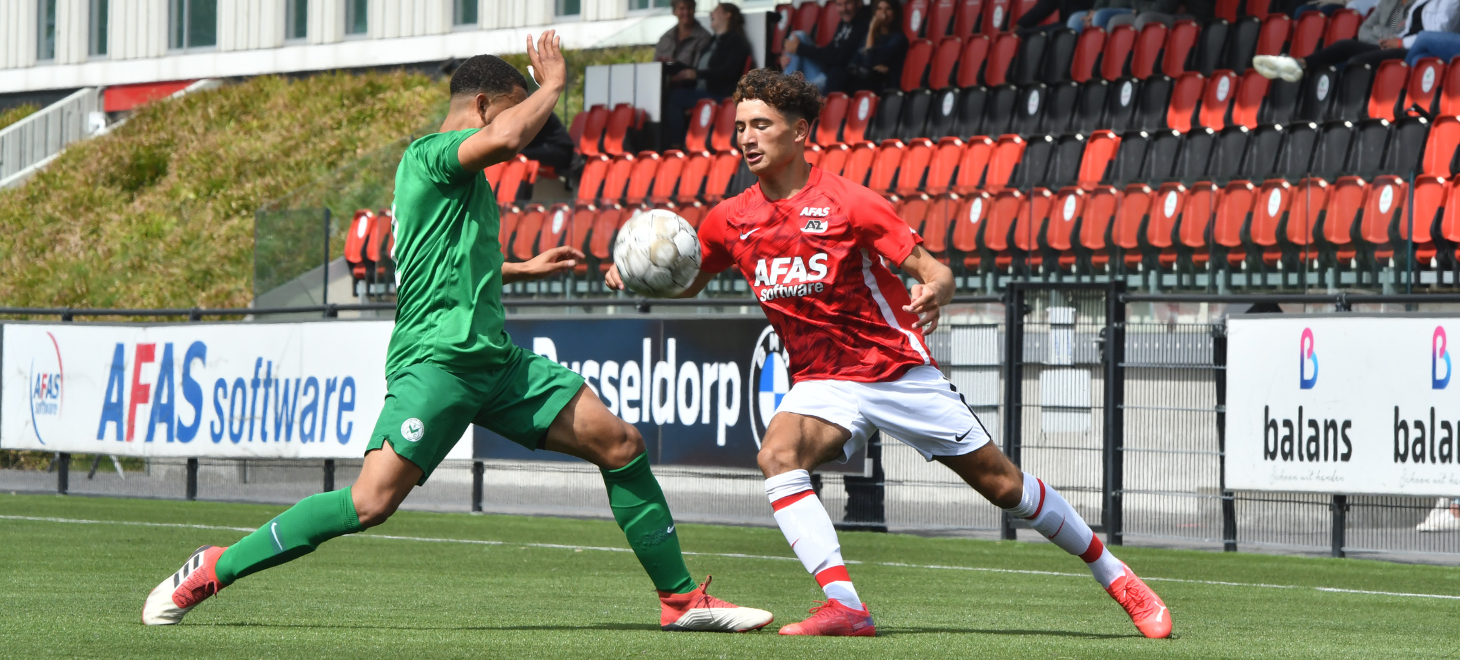 AZ Onder 18 verslaat AFC Amsterdam