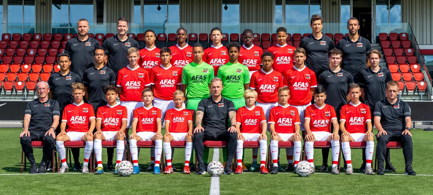AZ Onder 15 verliest van Feyenoord