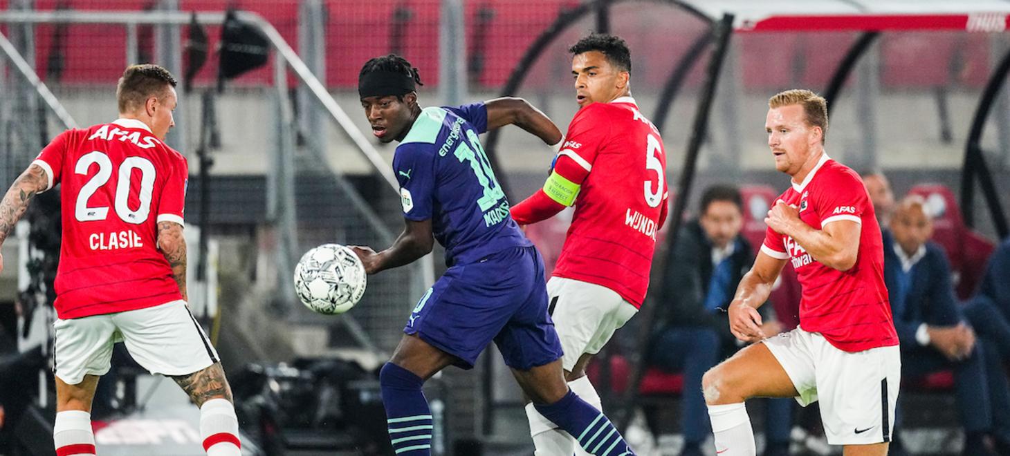 AZ verliest topper tegen PSV