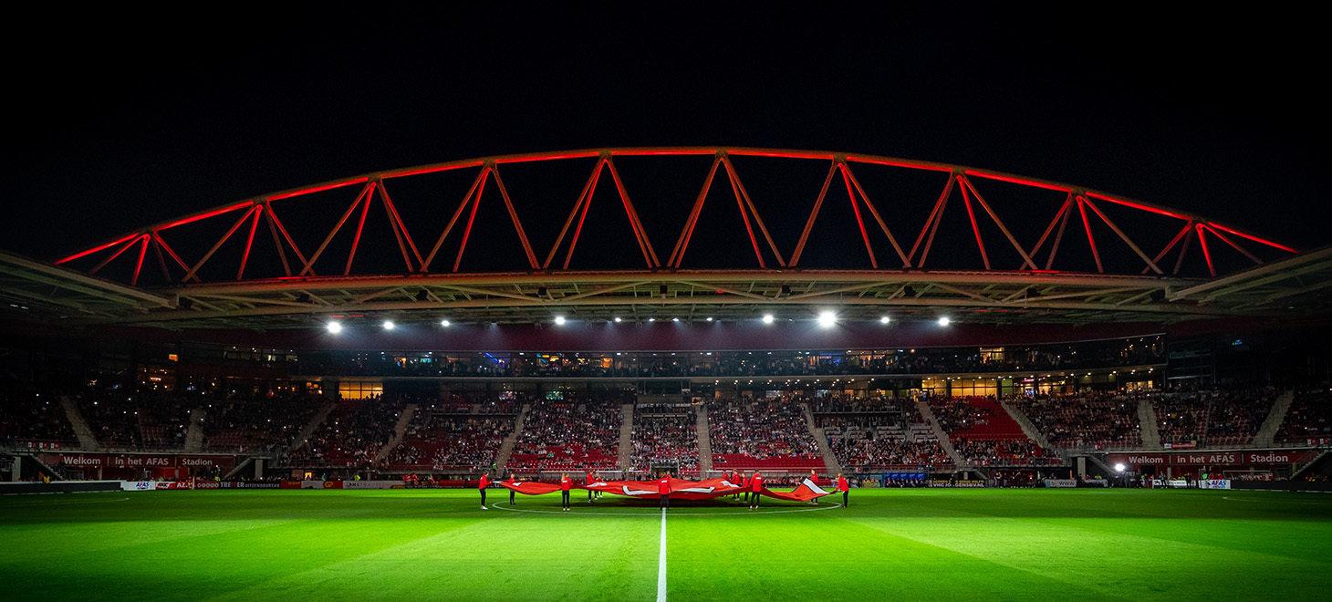 Heropening AFAS Stadion in beeld (AZ - PSV)