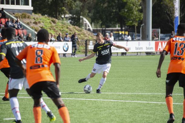 AZ Onder 16 won eerder met 4-2 van FC Volendam en reist zaterdag af naar het vissersdorp.
