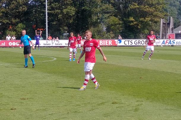 Clasie speelde in de eerste helft mee.