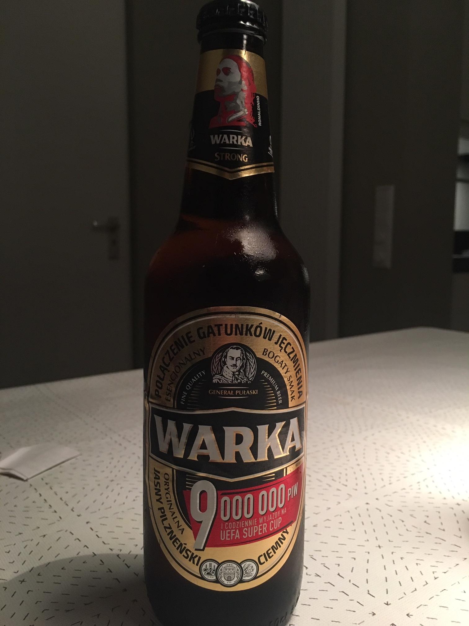 Warka premium strong