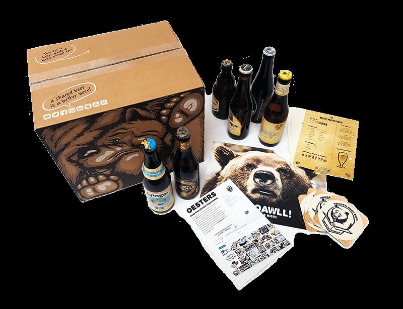 het bierpakket van Beer in a Box als kerstpakket of relatiegeschenk danwel eindejaarsgeschenk!