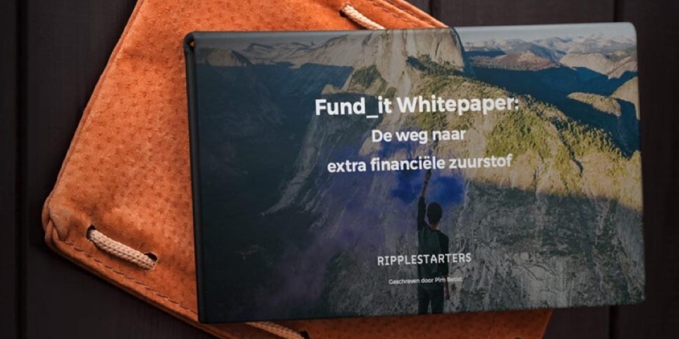 Whitepaper: De weg naar extra financiële zuurstof (Dutch) | Ripplestarters