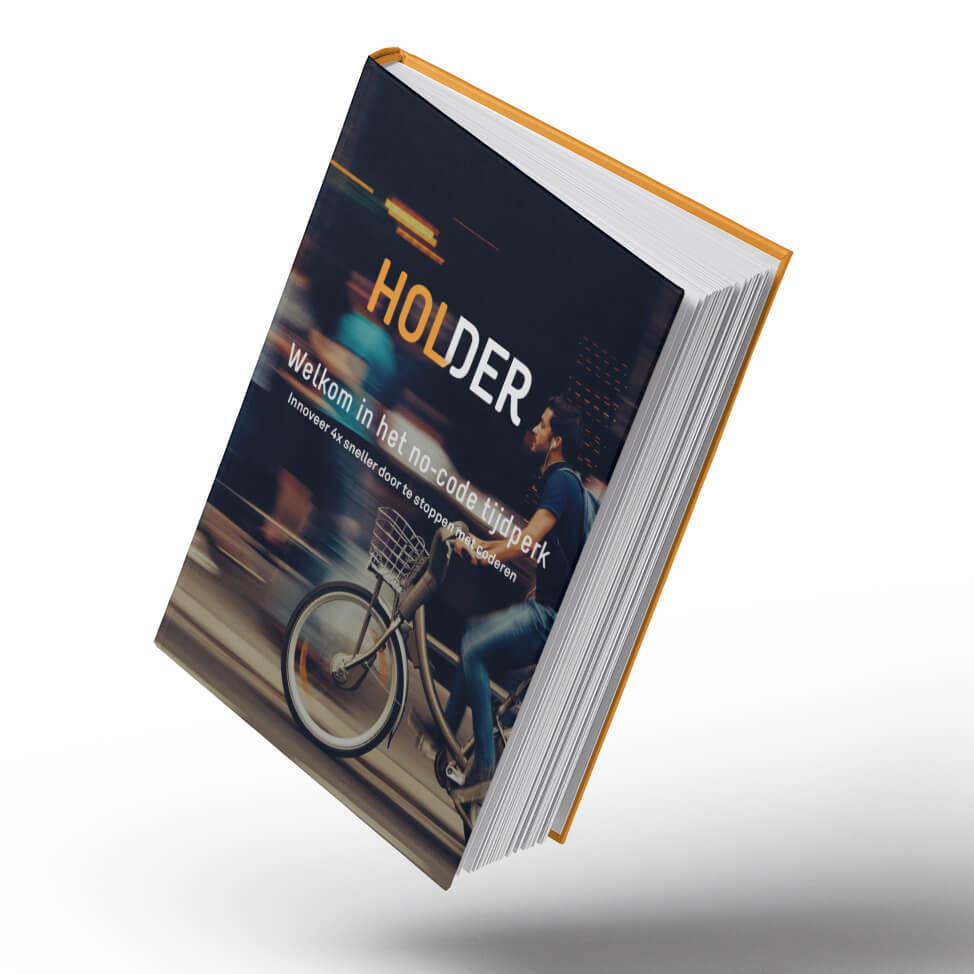 Download de whitepaper over no-code webapplicatie-ontwikkeling van Holder | Holder