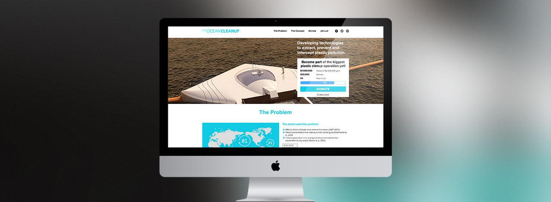 The Ocean Cleanup | Crowdfunding platform | Holder | Holder