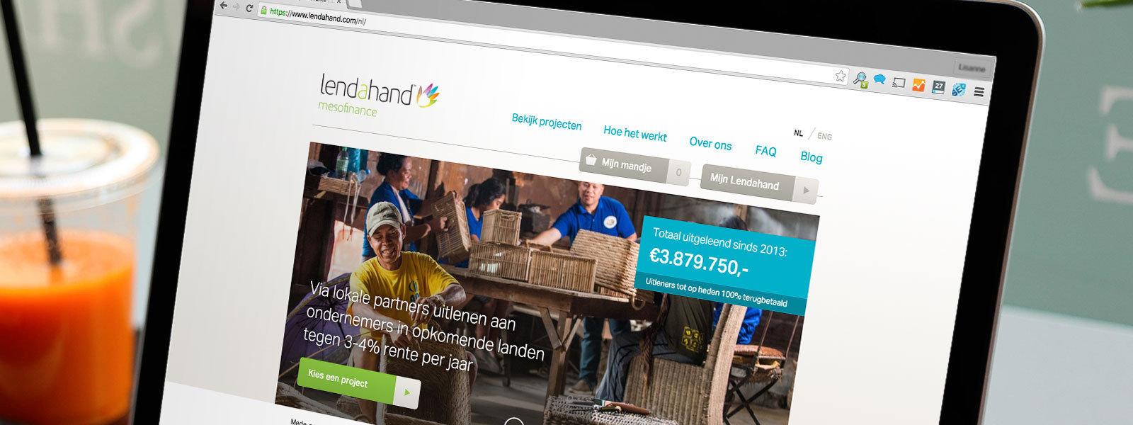 Crowdfundingplatform Lendahand wint Financieel Product van het Jaar