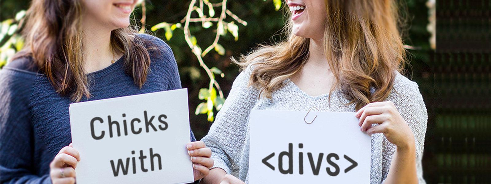 Chicks with Divs: De kracht van vrouwelijke IT'ers in een wereld vol testosteron.