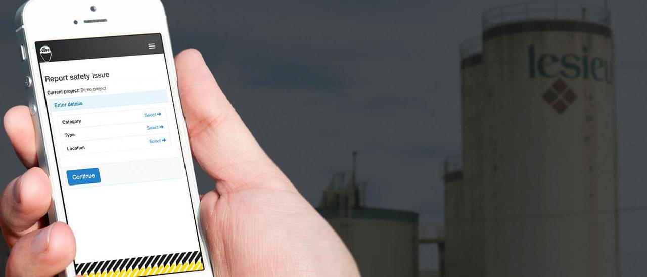 MySepp Safety Reports app | Holder