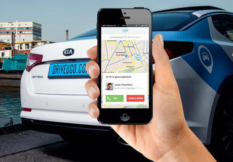 Drive Ugo Mobile app | Holder
