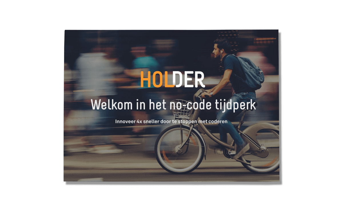 <p>Download de whitepaper: <span>Welkom in het no-code tijdperk</span></p> | Holder