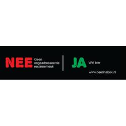Nee / Ja sticker