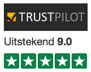Review klantwaardering Beer in a Box op Trustpilot
