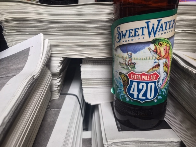 Sweetwater 420 van Sweetwater Brewing Company