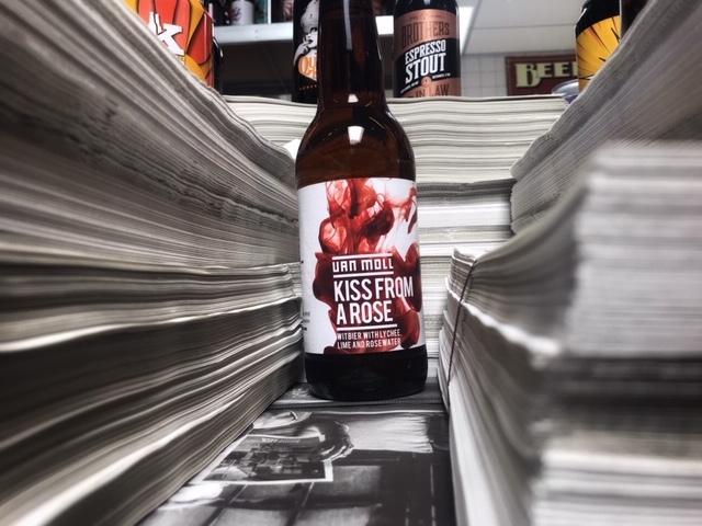 Kiss from a Rose van Van Moll Craft Beer