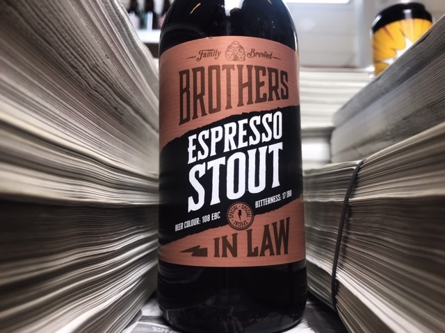 Espresso Stout Brother in Law van Brothers In Law Brewing