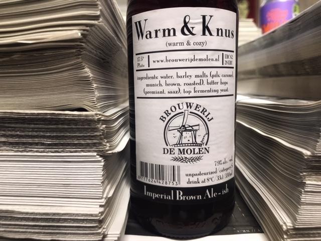 Warm en Knus van Brouwerij De Molen