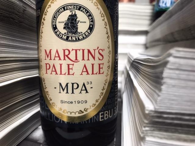 Martin's Pale ale van Brouwerij John Martin & Timmermans