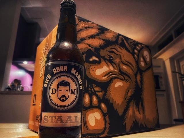 Staal van Bier door Mannen