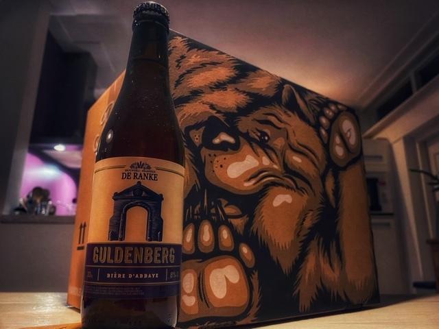 Guldenberg Tripel van Brouwerij De Ranke