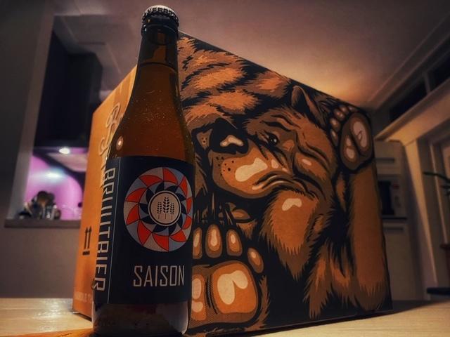 Bruut Saison van Bruut Bier