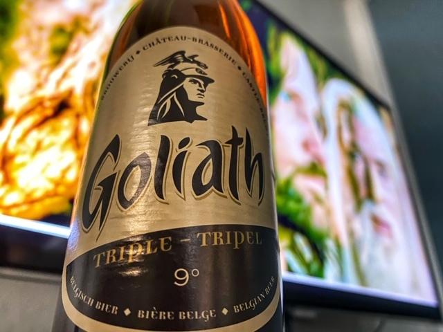 Goliath Triple van Brasserie des Légendes